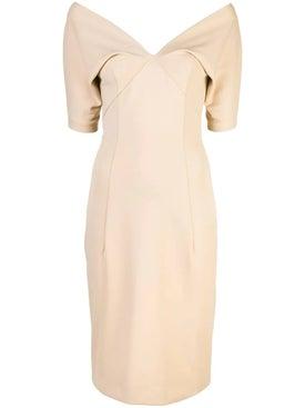 Haider Ackermann - V-neck Midi Dress - Dresses