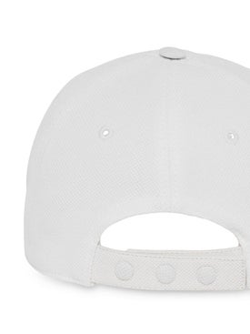 Burberry - White Monogram Baseball Cap - Women