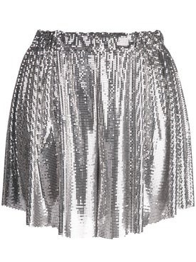 Paco Rabanne - Metallic Shorts - Women