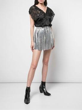 Paco Rabanne - Metallic Shorts - Women