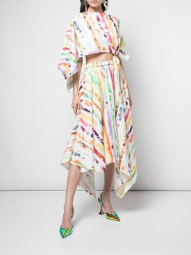 Trangle dress MULTICOLOR