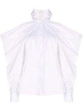 Sara Battaglia - Cold Shoulder Shirt - Women