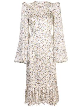 floral print Belle midi dress