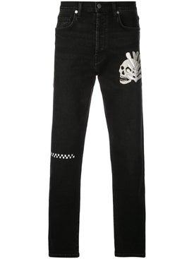 Lost Daze - Skull Leaf Jeans - Jeans
