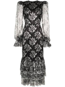 The Vampire's Wife - Night Bird Lace Dress - Women