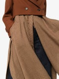 Chloé - Check Print Layered Coat - Women
