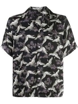 Amiri - Crane Short Sleeves Shirt Black - Men