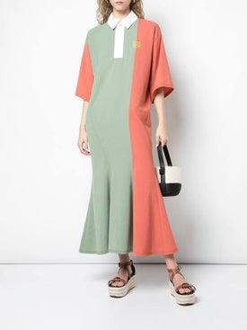 Loewe - Poloneck Dress Multicolor - Mid-length