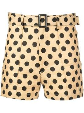 Lisa Marie Fernandez - Polka Dot Shorts - Shorts