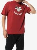 Palm Angels - Upside Down Skull Logo T-shirt Red - Men