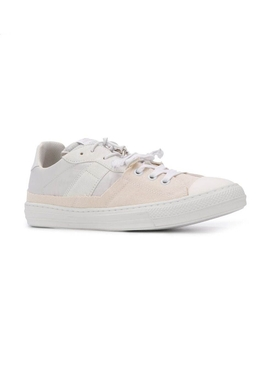 spliced low top sneakers WHITE