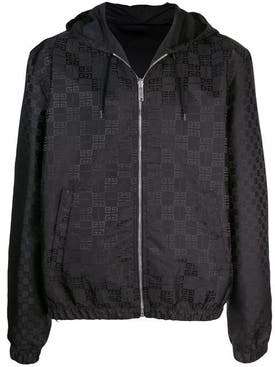 Givenchy - Reversible All-over Logo Print Hooded Jacket - Men
