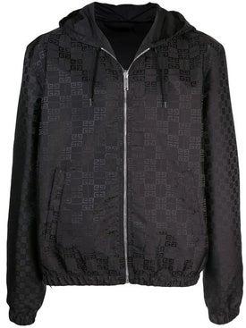 Givenchy - Reversible All-over Logo Print Hooded Jacket - Men