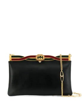 Gucci - Broadway Evening Bag With Twisted Enamel Black - Crossbody