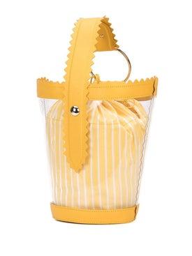Sara Battaglia - Clear Bucket Bag Yellow - Women