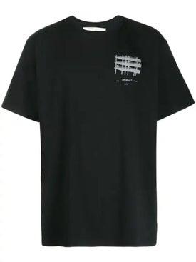 Off-white - Industrial Short Sleeve T-shirt Black - Men
