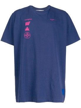 Off-white - Mariana De Silva Graphic T-shirt Blue - Men