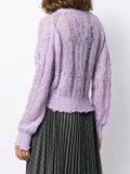 Acne Studios - Kella Cable Knit Sweater - Women
