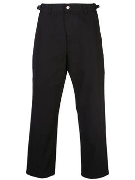 workwear trousers BLACK
