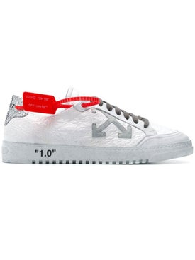 Off-white - 2.0 Low Sneakers White & Silver - Men