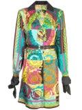 Versace - Voyage Barocco Printed Shirt Dress - Women