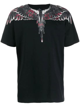 Marcelo Burlon County Of Milan - Wings Print T-shirt Black - Men
