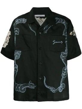 Givenchy - Snake And Icarus Printed Shirt - Men