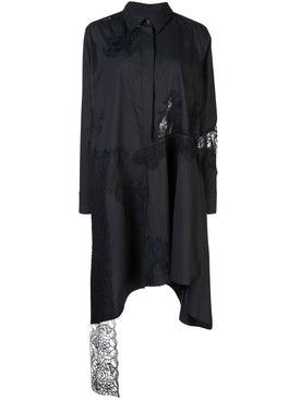 Marques'almeida - Asymmetric Shirt Dress Black - Women