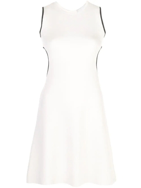 Rudi Gernreich - White Wool Sleeveless Cutout Dress - Women