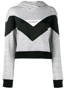 Givenchy - Colorblock Hoodie Grey - Sweatshirts