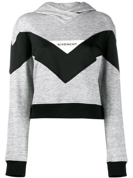 Givenchy - Colorblock Hoodie Grey - Women