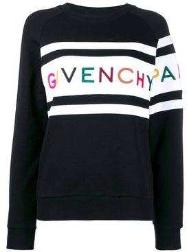 Givenchy - Paris Sweatshirt Black & White - Tops