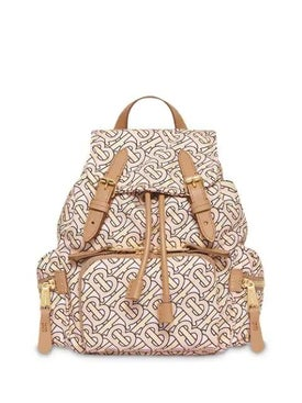 Burberry - The Small Rucksack In Monogram Print Nylon - Women
