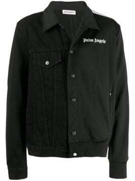 Palm Angels - Hybrid Denim Jacket Black - Denim