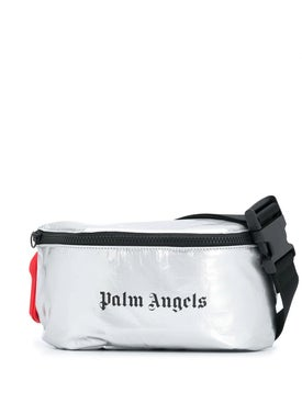 Palm Angels - Silver Fanny Pack Silver - Men