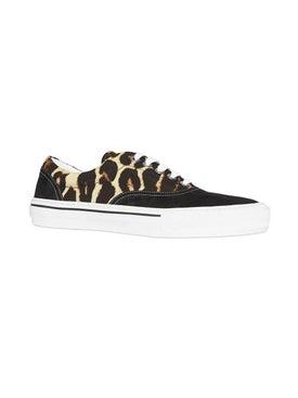 Burberry - Leopard Print Sneakers - Men