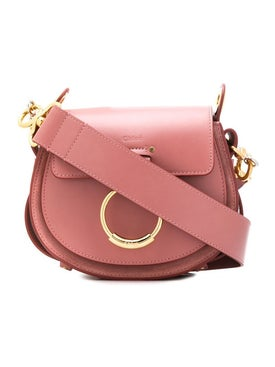Chloé - Dusty Pink Tess Shoulder Bag - Women