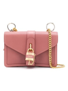 Chloé - Dusty Pink Aby Padlock Bag - Women