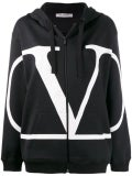 Valentino - Go Logo Zip-front Hoodie - Hoodies