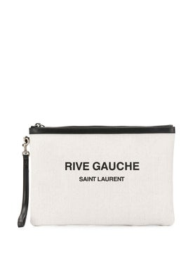 Saint Laurent - Canvas Printed Pouch - Men