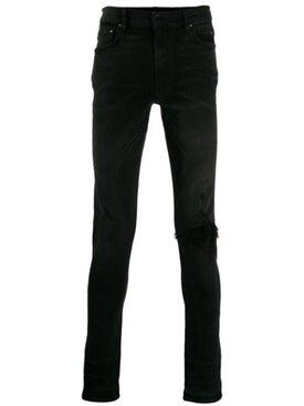 Amiri - Ripped Skinny Jeans Black - Denim