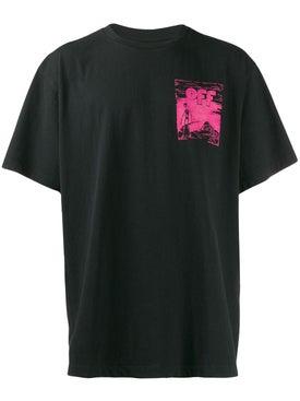 Off-white - Floating Skull T-shirt Black - Men