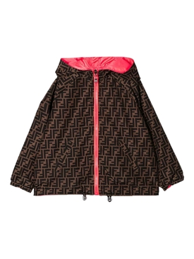 Kids reversible raincoat