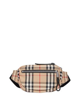 Burberry - Mini Check Bum Bag - Women