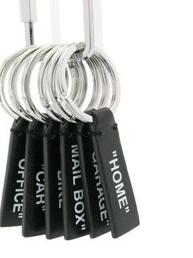 Off-white - 6 Label Keyring - Women