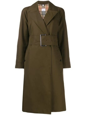 Burberry - Gabardine Belted Trench Coat - Women