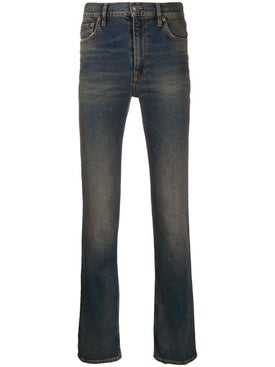 Balenciaga - Fitted 5-pocket Straight-leg Jeans - Men