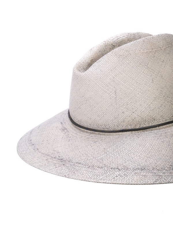 02881086b Kate BLEACHED STRAW GREY Hat