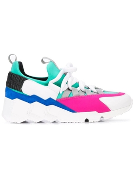 Trek Comet color-block sneakers