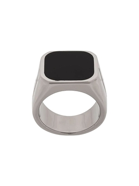 engraved signature signet ring